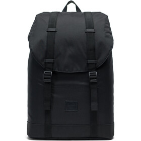 Herschel Retreat Mid-Volume Light Zaino nero